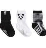 Robeez 3 Pk Socks, Piper Panda
