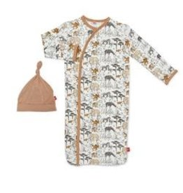Magnetic Me Great Migration Modal Magnetic Sack Gown Set NB-3M