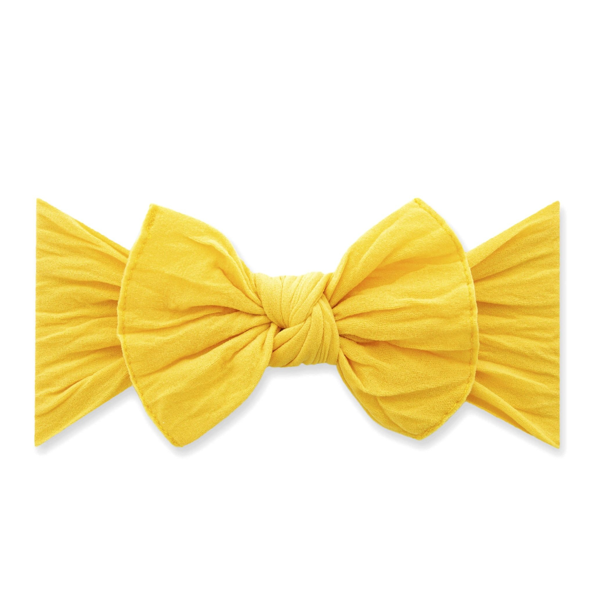 Baby Bling Bows Knot - Canary