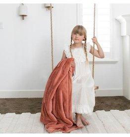 Saranoni Toddler to Teen Blanket Clay Lush