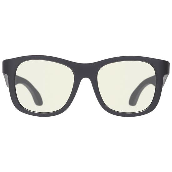 Babiators Babiators Blue Light Glasses : Black Ops Black Navigator (3-5)