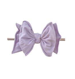 Baby Bling Bows FAB-BOW-LOUS Skinny:  Light Orchid