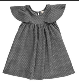 Vignette Lottie Dress Charcoal Dot
