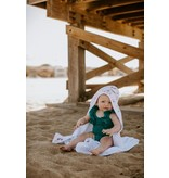 Copper Pearl Knit Hooded Towel - Enchanted