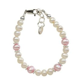 Cherished Moments Addie - (M) Pink/white freshwater pearls