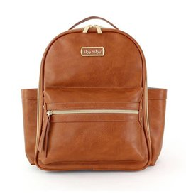 Itzy Ritzy Itzy Ritzy Mini Backpack Cognac