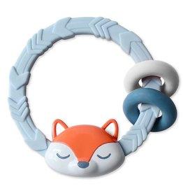 Itzy Ritzy Ritzy Rattle Fox Blue