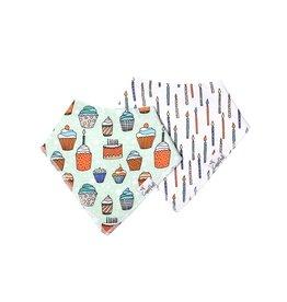Copper Pearl Bibs Set Confetti (2-pack)