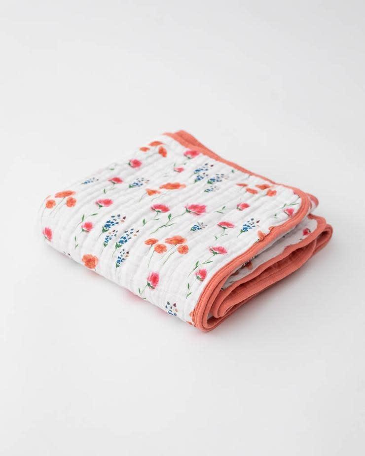 Little Unicorn Cotton Muslin Baby Quilt -  Wild Mums