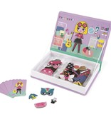 Janod Magnet Book, Girl's Costumes