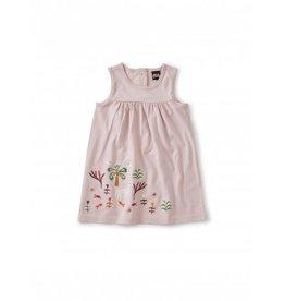Tea Collection Akhmim Animal Tank Dress - Orchid Haze