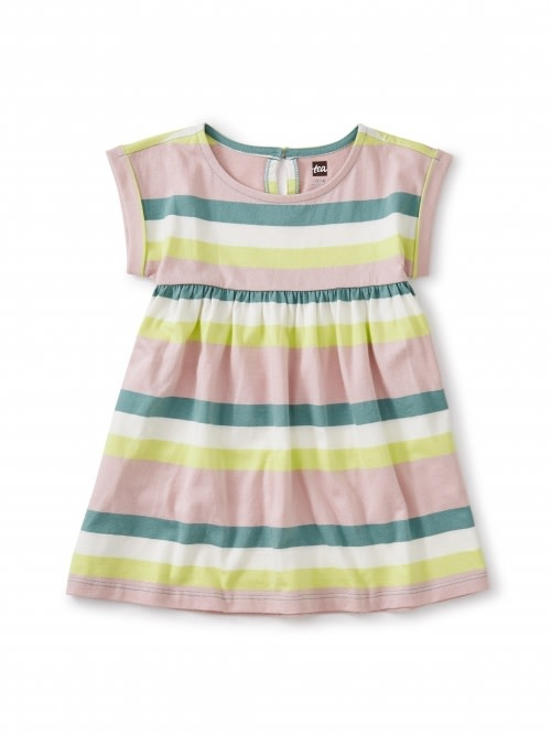 Tea Collection Empire Baby Dress - Marsh