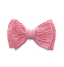 Baby Bling Bows Classic Clip - Coral