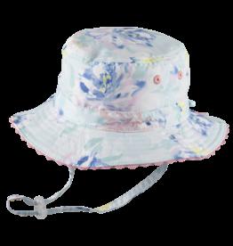 Millymook and Dozer Baby Girls Bucket Sun Hat - Blush Mint S (0-12m)
