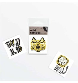 Wee Gallery Temporary Tattoos, Wild