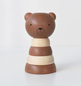 Wee Gallery Wood Stacker - Bear