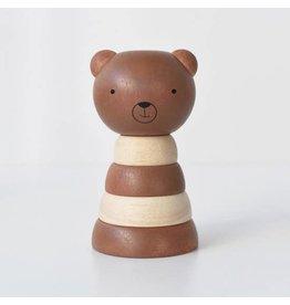 Wee Gallery Wood Stacker - Bear