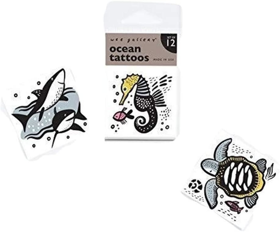Wee Gallery Temporary Tattoos, Ocean