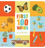 Gibbs Smith First 100 Words in English and Spanish