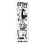 Wee Gallery Canvas Growth Chart - Woodland