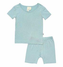 Kyte Baby Short Sleeve Toddler Pajama Set Seafoam