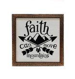 6x6 Faith Can Move Mountains