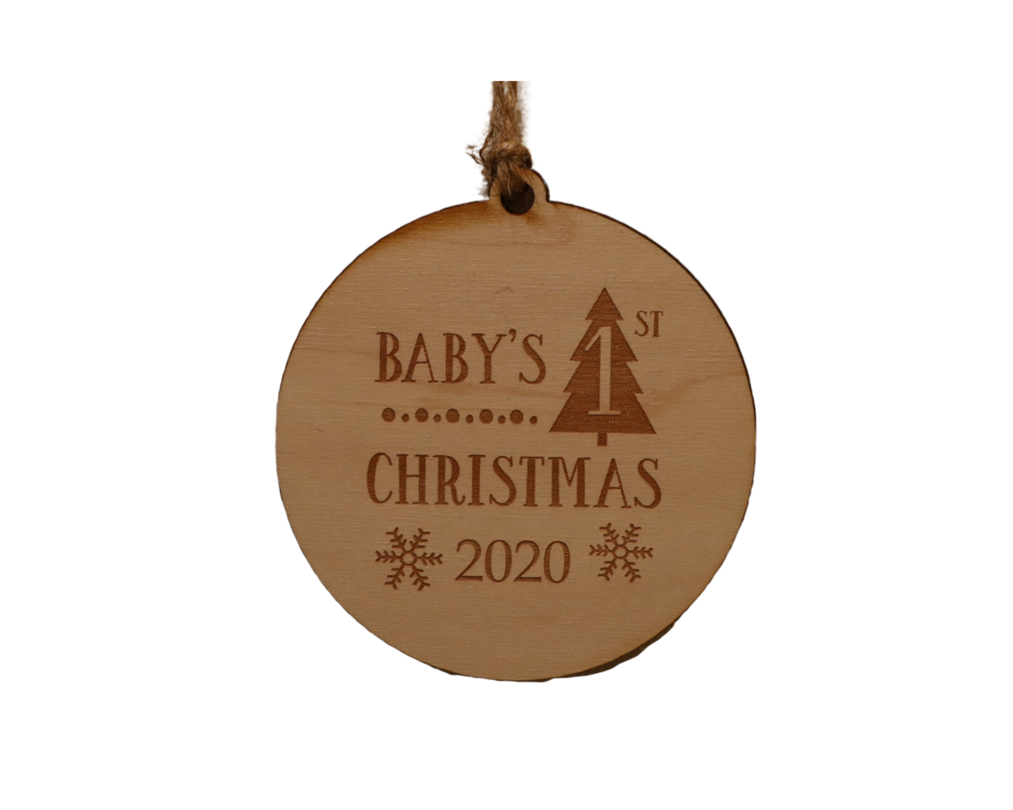 Baby's First Christmas Ornament 2020