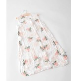 Little Unicorn Cotton Muslin Sleep Bag Small - Watercolor Rose