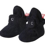 Zutano Cozie Fleece Bootie - Black