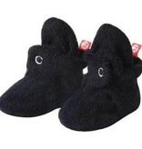 Zutano Cozie Fleece Bootie - Black