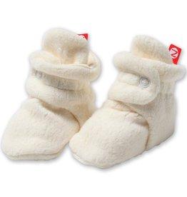 Zutano Cozie Fleece Bootie Cream-3M