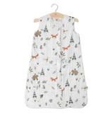 Little Unicorn Cotton Muslin Sleep Bag Medium - Forest Friends