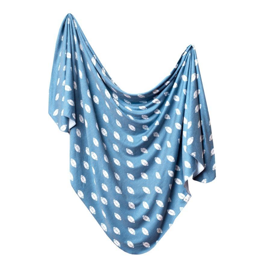 Copper Pearl Knit Blanket - Quarterback