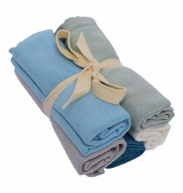 Kyte Baby Washcloth Bundle Boy Multi 5pk
