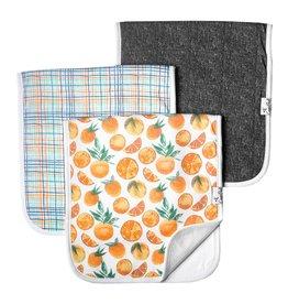 Copper Pearl Burp Cloths (3 pack) - Citrus