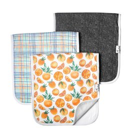 Copper Pearl Burp Cloths (3 pack) - Citrus