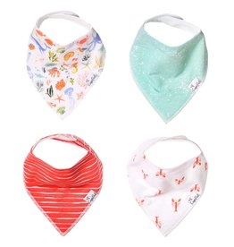 Copper Pearl Bibs - Nautical Set - 4 pack