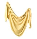 Copper Pearl Knit Blanket - Marigold