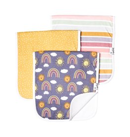 Copper Pearl Burp Cloths (3 pack) - Hope