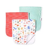 Copper Pearl Burp Cloths (3 pack) - Nautical