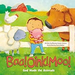 Baa Oink Moo God Animals