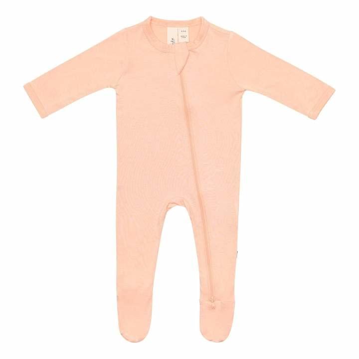 Kyte Baby Zippered Footie Papaya