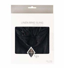Kyte Baby Ring Sling Licorice w/ Black Rings