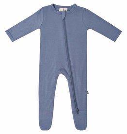 Kyte Baby Zippered Footie Slate