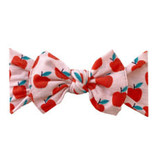 Baby Bling Bows Printed Knot - Teachers Pet