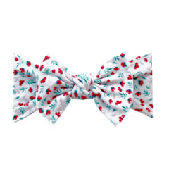 Baby Bling Bows Printed Knot - Carnation