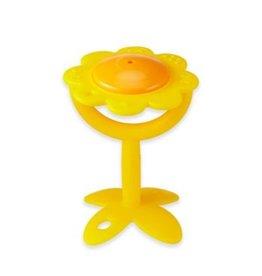 Innobaby EZ Grip Teether Flower Rattle - Yellow