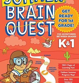 Workman Publishing Summer Brainquest: Kindergarten - 1st Grade