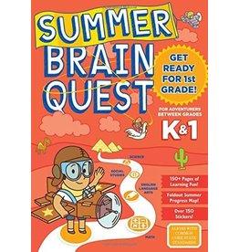 Workman Publishing Summer Brainquest: Kindergarten - 1st Grade