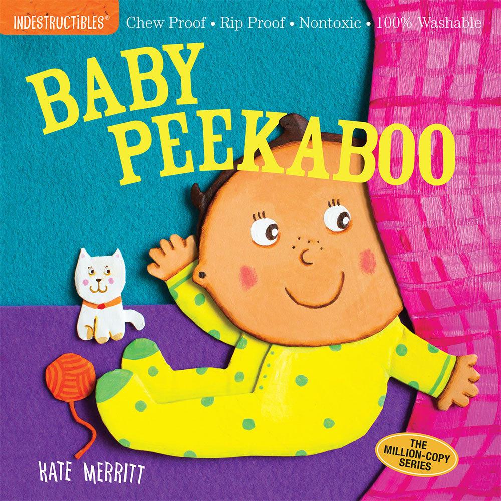 Workman Publishing Indestructibles: Baby Peekaboo